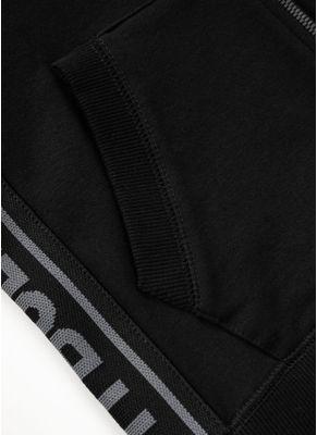 Bluza rozpinana z kapturem damska French Terry Small Logo 10