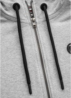Bluza rozpinana z kapturem damska French Terry Small Logo 7