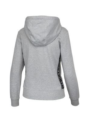 Bluza rozpinana z kapturem damska French Terry Small Logo 2
