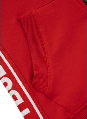 Bluza rozpinana z kapturem damska French Terry Small Logo 3