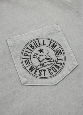Koszulka Denim Washed Circle Dog Pocket 4