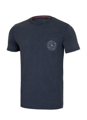 Koszulka Denim Washed Circle Dog Pocket 0