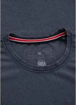 Koszulka Denim Washed Circle Dog Pocket 2