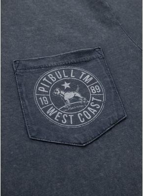 Koszulka Denim Washed Circle Dog Pocket 3