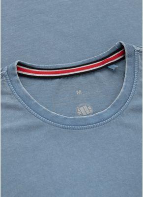 Koszulka Denim Washed Circle Dog Pocket 6