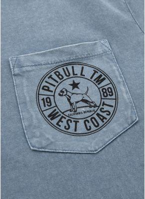 Koszulka Denim Washed Circle Dog Pocket 7