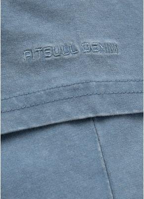 Koszulka Denim Washed Circle Dog Pocket 8