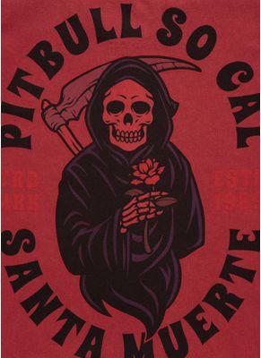 Koszulka Denim Washed Santa Muerte 8