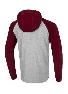 Longsleeve z kapturem Garment Washed Raglan Small Logo 8