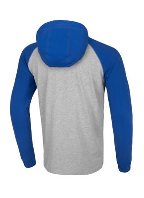 Longsleeve z kapturem Garment Washed Raglan Small Logo 9