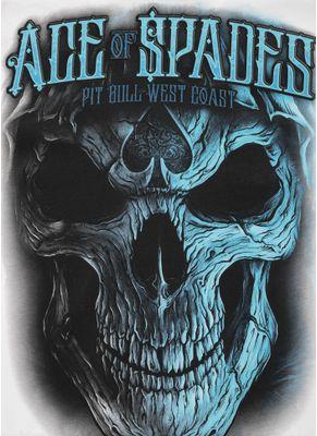 Koszulka Blue Skull 10