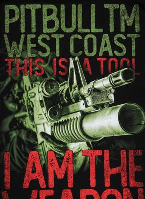 Koszulka I Am The Weapon 9