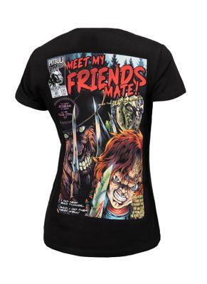 Koszulka damska Meet My Friends 0