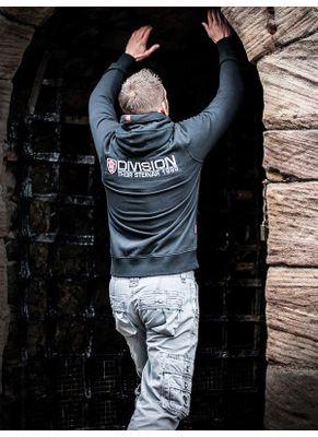 Bluza rozpinana z kapturem Drodning Division 8