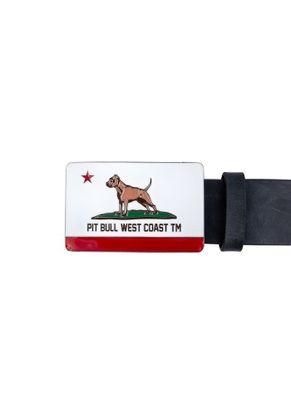 Pasek skórzany California Dog 1