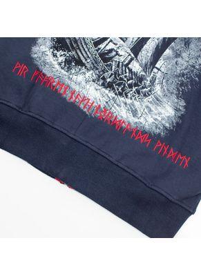 Bluza rozpinana z kapturem Sjomann 4