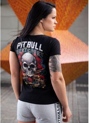 Koszulka damska Slim Fit Lycra Santa Muerte 1