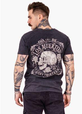 Koszulka Washed Dead Skull 0