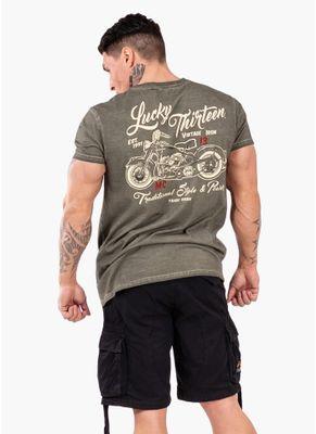 Koszulka Washed Vintage Iron 0