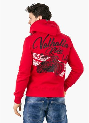 Bluza rozpinana z kapturem Valhalla Rider II 0