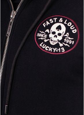 Bluza rozpinana z kapturem Fast and Loud 7