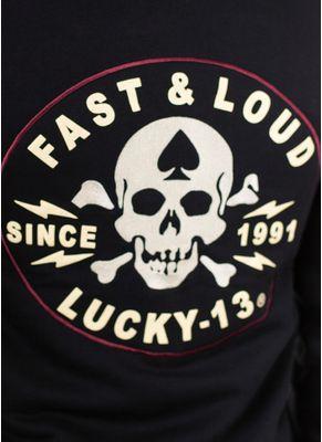 Bluza rozpinana z kapturem Fast and Loud 6