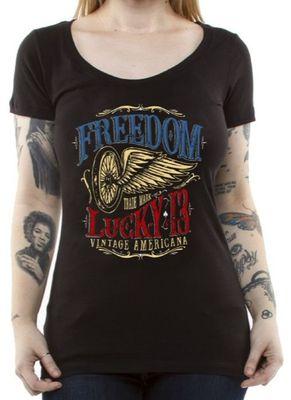 Koszulka damska Freedom Wheel 1