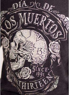 Koszulka Washed Dead Skull 4