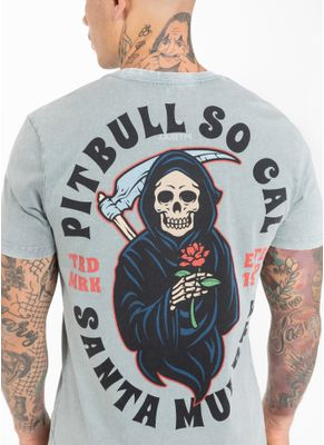 Koszulka Denim Washed Santa Muerte 6