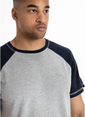 Koszulka Garment Washed Raglan Small Logo 6