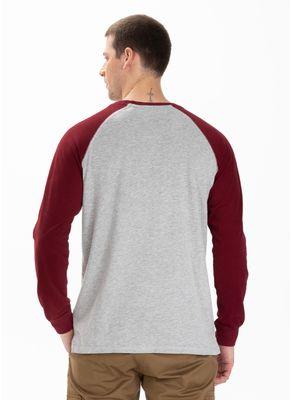 Longsleeve Garment Washed Raglan California 1