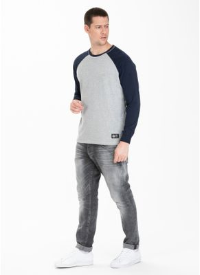 Longsleeve Garment Washed Raglan Small Logo 3