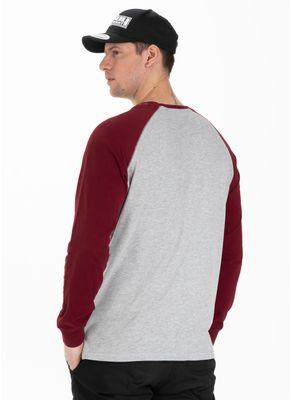 Longsleeve Garment Washed Raglan Small Logo 1