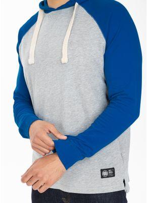 Longsleeve z kapturem Garment Washed Raglan Small Logo 6