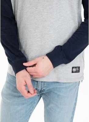 Longsleeve z kapturem Garment Washed Raglan Small Logo 5