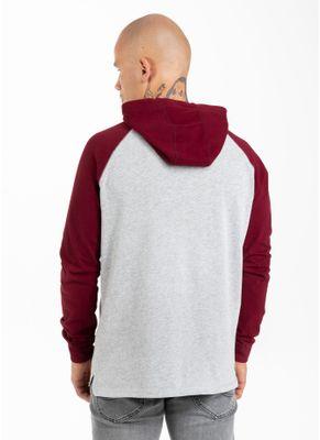 Longsleeve z kapturem Garment Washed Raglan Small Logo 1