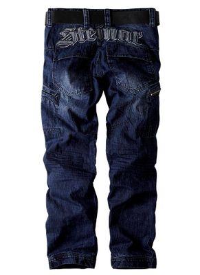 Spodnie bojówki jeans Enevald 3