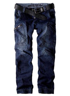 Spodnie bojówki jeans Enevald 2