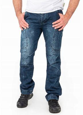 Spodnie bojówki jeans Enevald 0