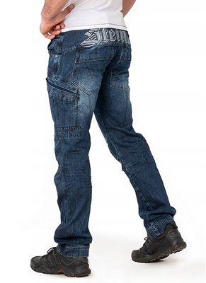 Spodnie bojówki jeans Enevald 1