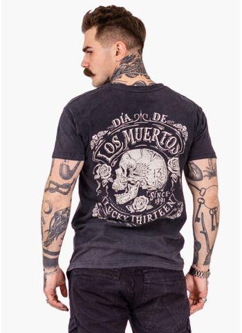 Koszulka Washed Dead Skull