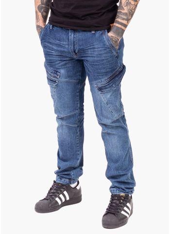 Spodnie jeans bojówki Valgard