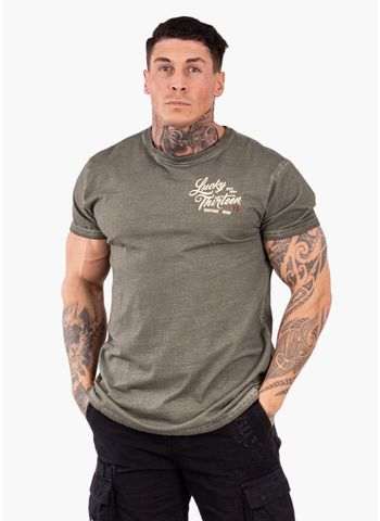 Koszulka Washed Vintage Iron