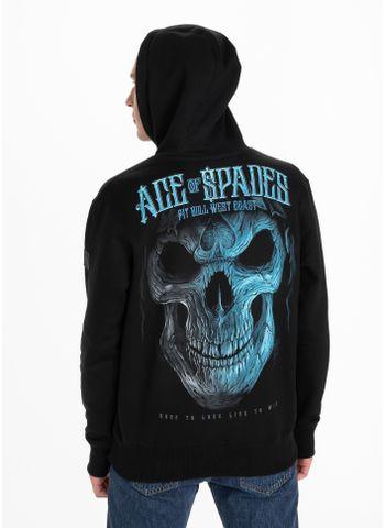 Bluza z kapturem Blue Skull