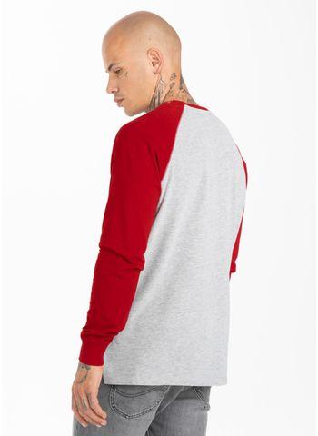 Longsleeve Garment Washed Raglan California